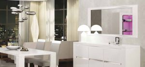 Elegance White Mirror