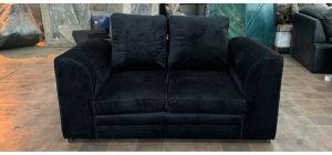 Black Regular Fabric Sofa Ex-Display Showroom Model 47077