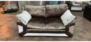 Mink Regular Fabric Sofa Ex-Display Showroom Model 47079