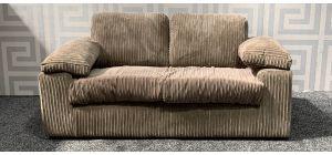 Riva Coffee Regular Fabric Sofa Ex-Display Showroom Model 47691