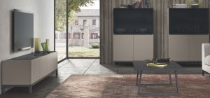 Kali Taupe Four Door TV Unit