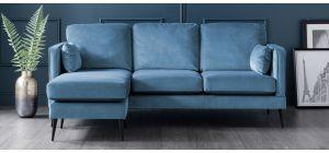 Anton Peacock LHF Fabric Corner Sofa
