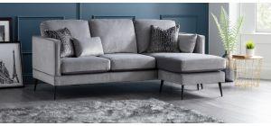 Anton Grey RHF Fabric Corner Sofa