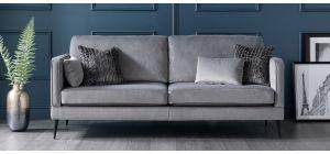 Anton Grey Fabric Large Sofa