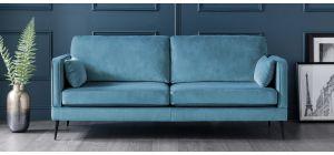 Anton Peacock Fabric Large Sofa