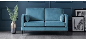 Anton Peacock Fabric Regular Sofa