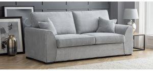 Dallas Silver Fabric 3 + 2 Sofa Set