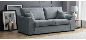 Dallas Charcoal Fabric Large Sofa