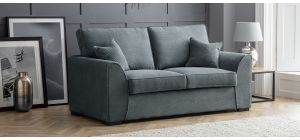 Dallas Charcoal Fabric Regular Sofa