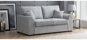 Dallas Silver Fabric Regular Sofa