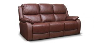 Parker Leather Sofa Set 3 + 2 + 1 Seater Tabac