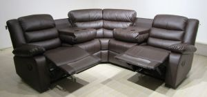 Roma Recliner Corner 2C2 Brown, 21 Day Delivery