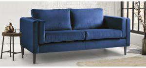 Nikon Navy Fabric 3 + 2 Sofa Set