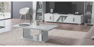 Lisa White Coffee Table