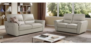Capri Ivory Leather 3 + 2 Sofa Set Newtrend Available In A Range Of Leathers And Colours 10 Yr Frame 10 Yr Pocket Sprung 5 Yr Foam Warranty
