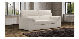 Zafferano White Leather 3 + 2 Sofa Set With Wooden Legs Newtrend Available In A Range Of Leathers And Colours 10 Yr Frame 10 Yr Pocket Sprung 5 Yr Foam Warranty