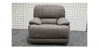 Gloucester Beige Fabric Electric Recliner Armchair Ex-Display Showroom Model 47974