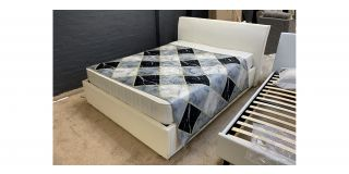 Techam King Ottoman Bed Includes Headboard - Clerance - Without Mattress - Mattresses From £149 - 48472-DW