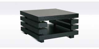 Blox Black Oak End Table