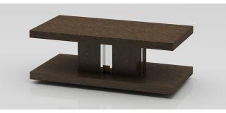 Dark Elm Rectangular Coffee Table