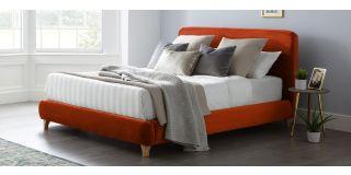 Madrid Bed Frame King 5FT Apricot