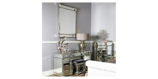 Silver Vesper Wall Mirror