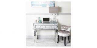 Grey Stamford Mirror Console Table