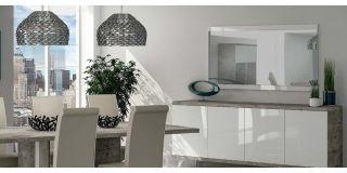 Treviso White Mirror