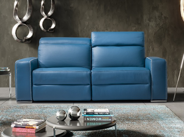 Quality Leather Fabric Corner Reclining Sofas Leather Sofa World